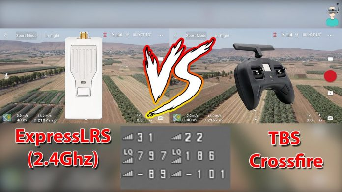 ExpressLRS 2.4 vs Crossfire and TBS Tracer: range and penetration