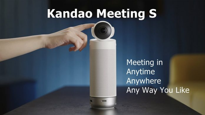 Kandao Meeting S is a 180-degree video conferencing camera