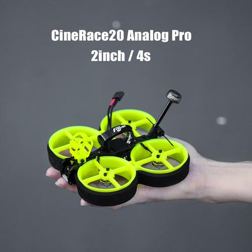 Flywoo Cinerace20 combines freestyle with cinewhoop FPV for Insta360 Go 2 or SMO